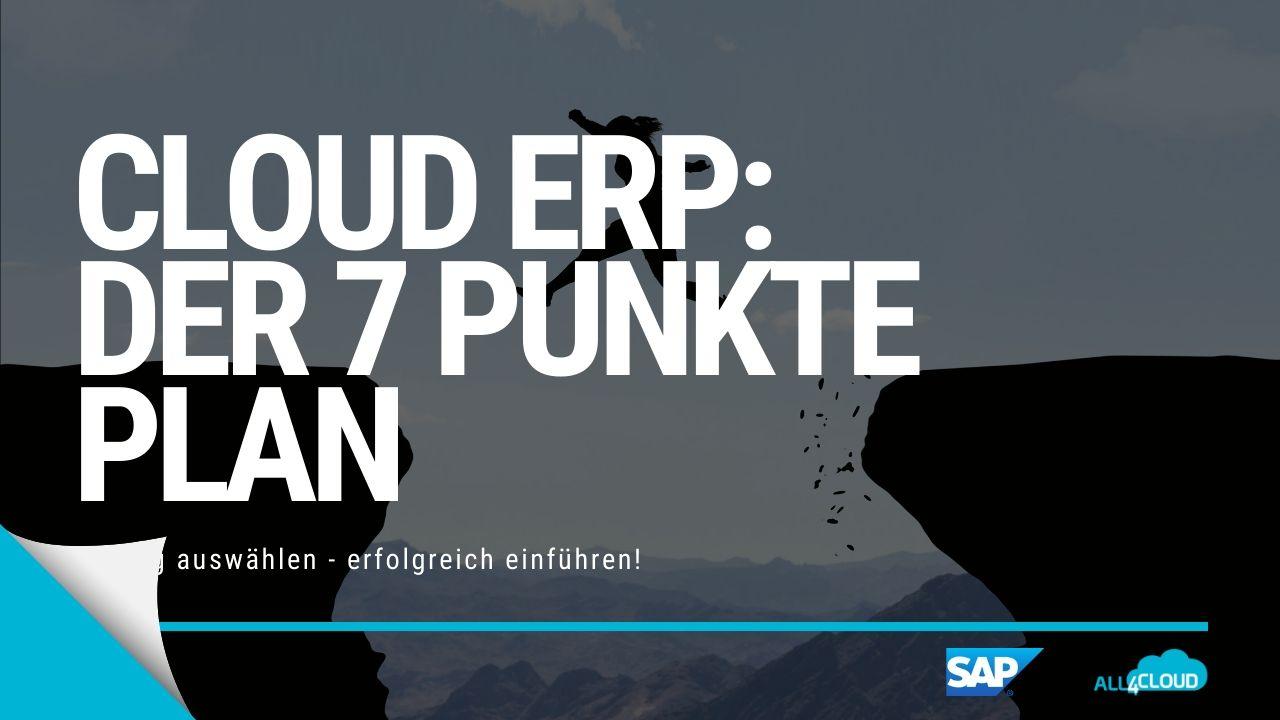 all4cloud Cloud ERP 7 Punkte Plan SAP Business ByDesign Download